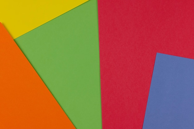 Kolorowe puste kartony tekstury i tła