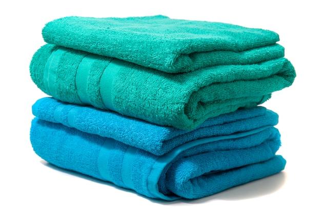 Kolorowe ręczniki kąpielowe