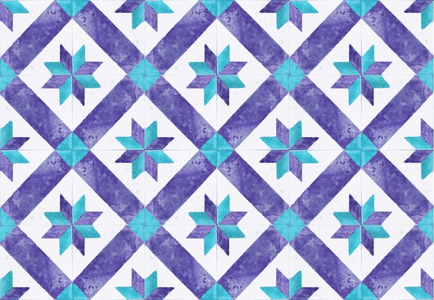 Kolorowe rocznika płytki ceramiczne ścienne dekoracje. tureckie płytki ceramiczne tło ściana