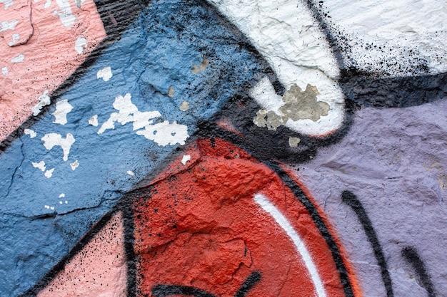 Kolorowe tło graffiti ścienne