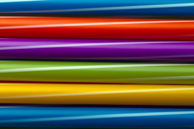 Kolorowe tło rur koktajlowych