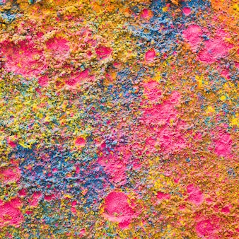 Kolorowe tło w proszku