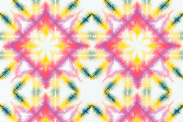 Kolorowe tło wzór barwnika krawat