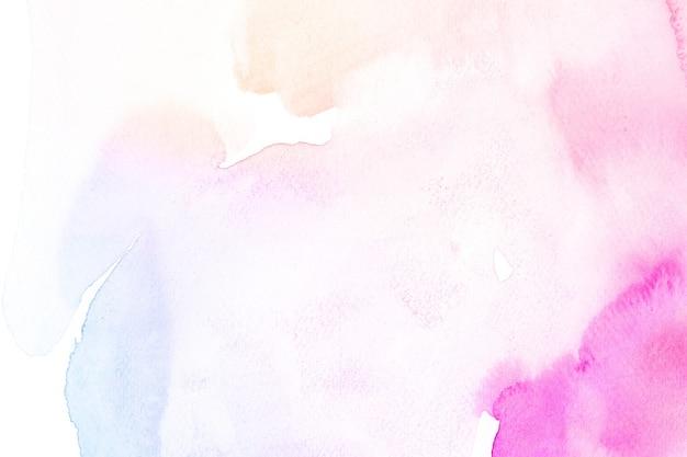 Kolorowe tło z teksturą akwareli