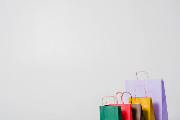 Kolorowe torby na zakupy