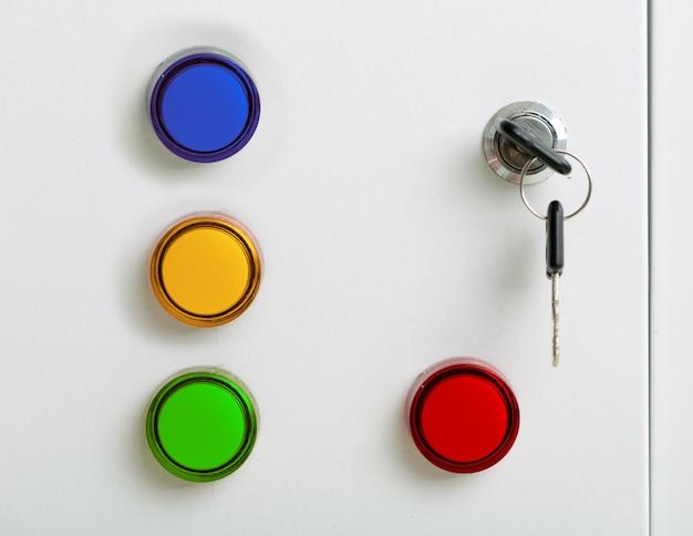 Kolorowe wskaźniki elektryczne