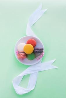 Kolorowe Z Macarons. Premium Zdjęcia