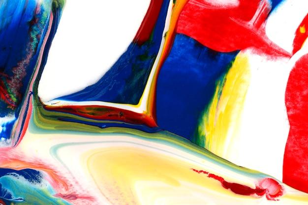 Kolorowy abstrakcjonistyczny akrylowy obrazu tło
