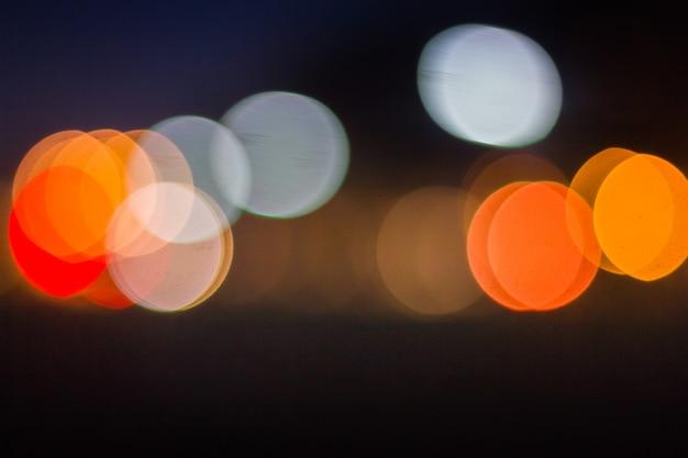 Kolorowy abstrakcjonistyczny bokeh tło