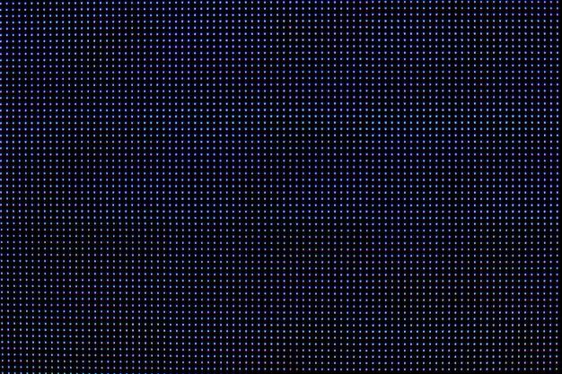 Kolorowy ekran led.
