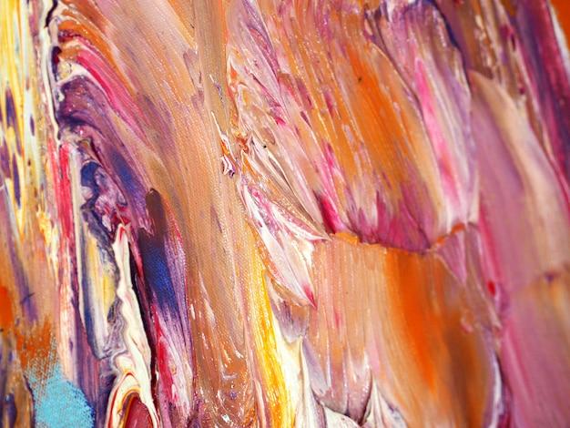 Kolorowy farby olejnej abstrakcyjne tło