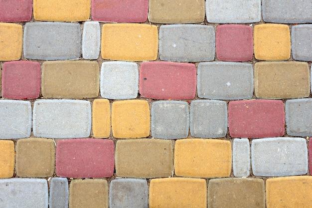 Kolorowy kamienny ścieżki tło