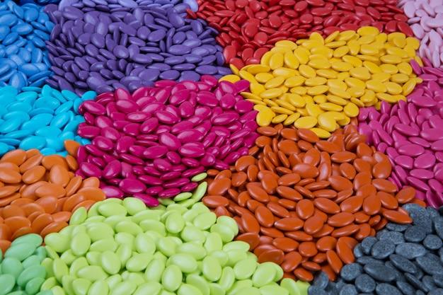 Kolorowy kamienny tekstury tło