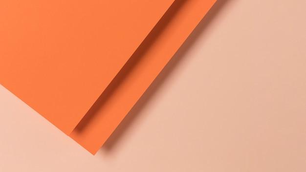 Kolorowy kształt szafek