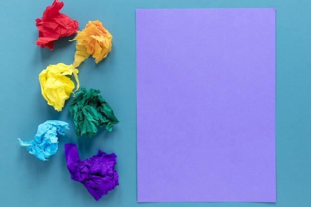 Kolorowy papier motolitowy