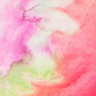 Kolorowy papier textured tło malował z akwarelą
