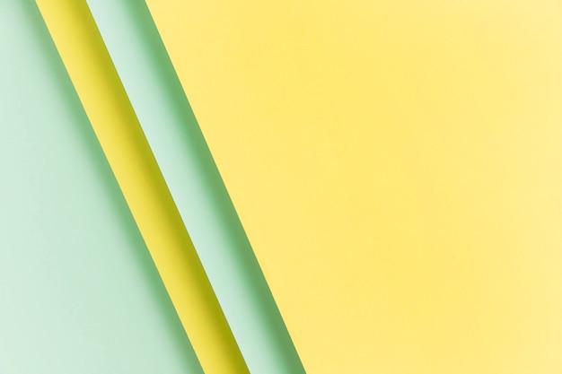 Kolorowy papierowy ornament szafki