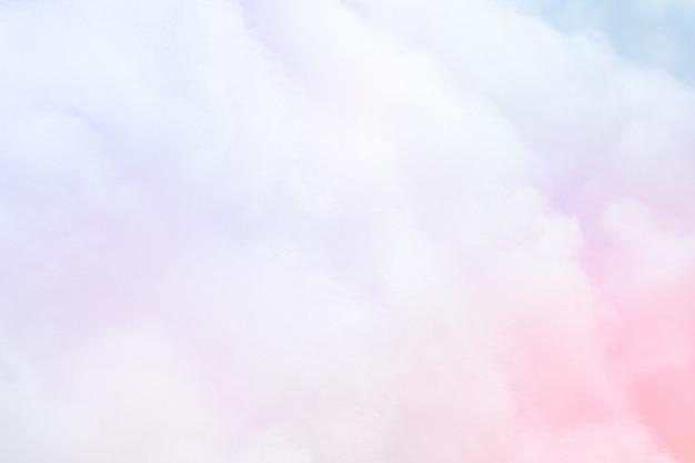 Kolorowy pastelowy puszysty bawełnianego cukierku tło, miękkiego koloru słodki candyfloss, abstrakcjonistyczna plama