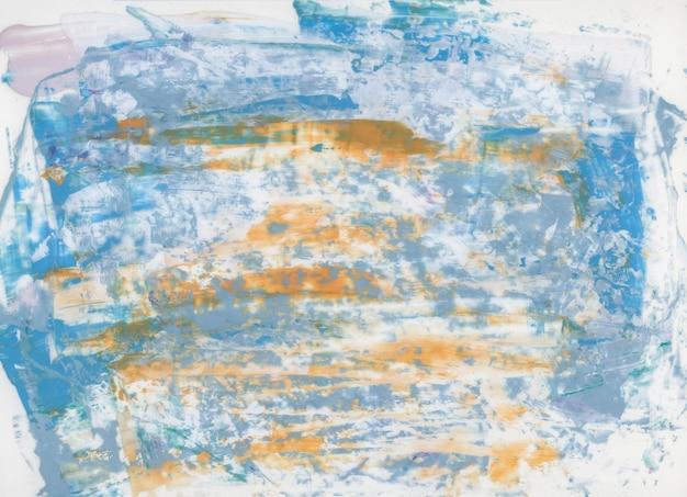 Kolorowy pędzel akrylowy