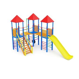 Kolorowy plac zabaw dla dzieci
