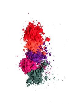 Kolorowy proszek, koncepcja festiwalu holi