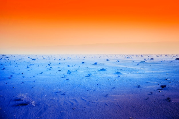 Kolorowy retro krajobraz vaporwave
