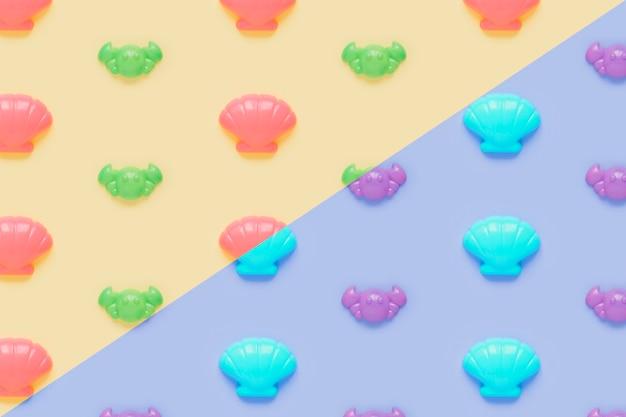 Kolorowy wzór powłoki
