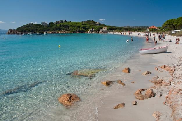 Kolory morza na wyspie santa maria