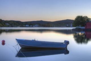 Kolory oceanu łódź