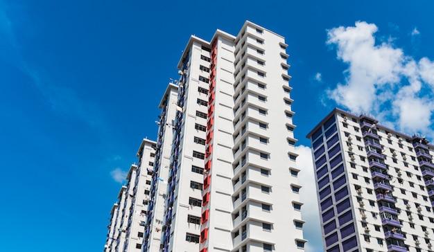Kolorystyka osiedla mieszkaniowego