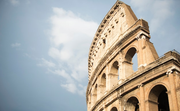 Koloseum w rzymie, włochy