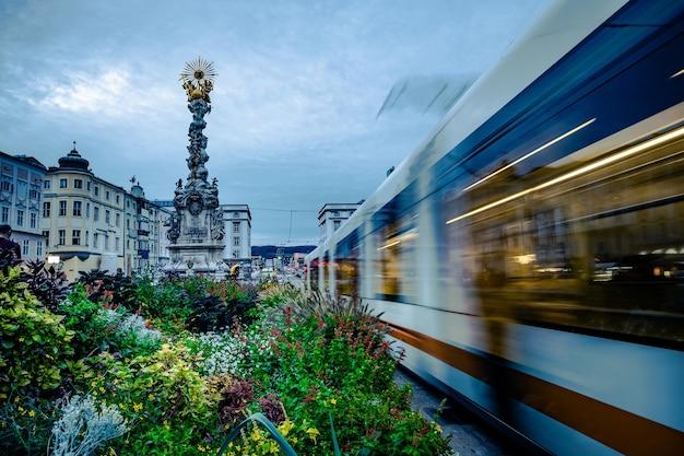 Kolumna trójcy w linzu, austria