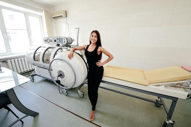 Komora ciśnieniowa to urządzenie, które nasyca ciało znaczną ilością tlenu. hiperbaryczne dotlenienie.