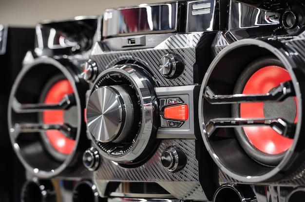 Kompaktowy cyfrowy odtwarzacz stereo