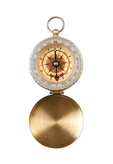 Kompas na białym tle