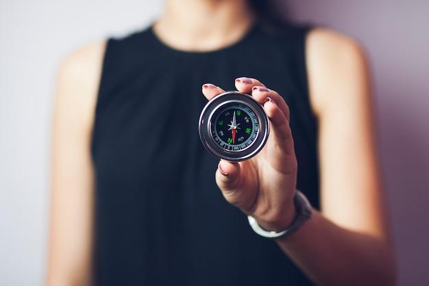 Kompas na rękę kobiety