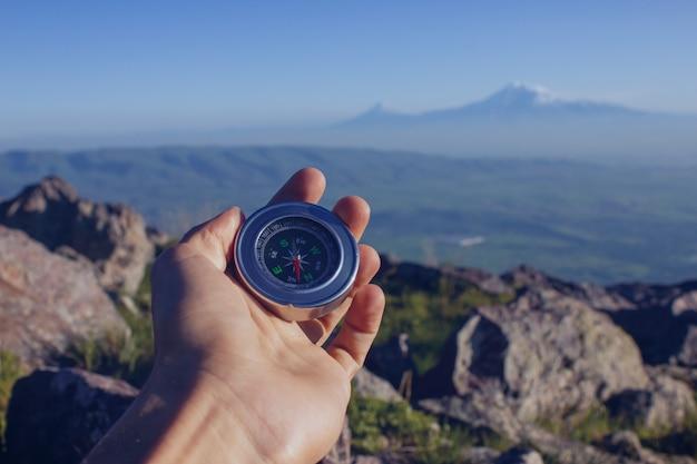 Kompas w naturze