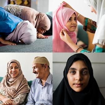 Kompilacja muzułmańskiego życia codziennego