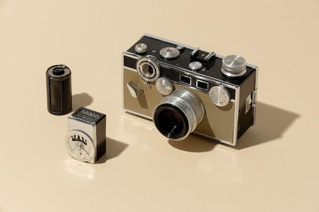 Kompozycja aparatu vintage zdjęcie