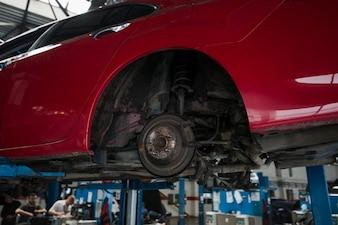 Kompozycja biznesowa do naprawy samochodów
