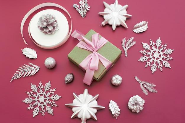 Kompozycja dekoracyjna do dekoracji świątecznych.