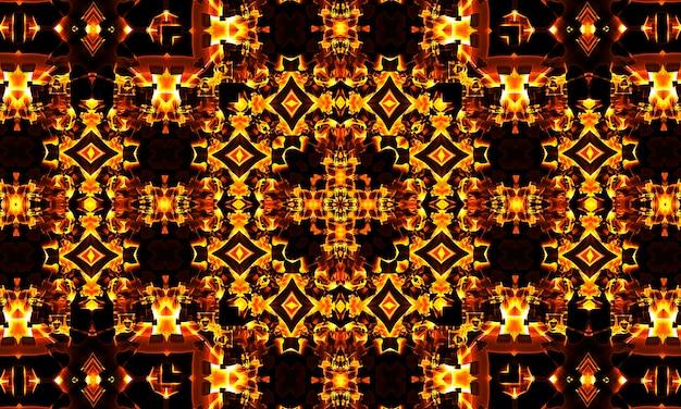Kompozycja geometryczna na tekstylia, szale, tapety, bezszwowe, kwadratowe, kalejdoskopowe.