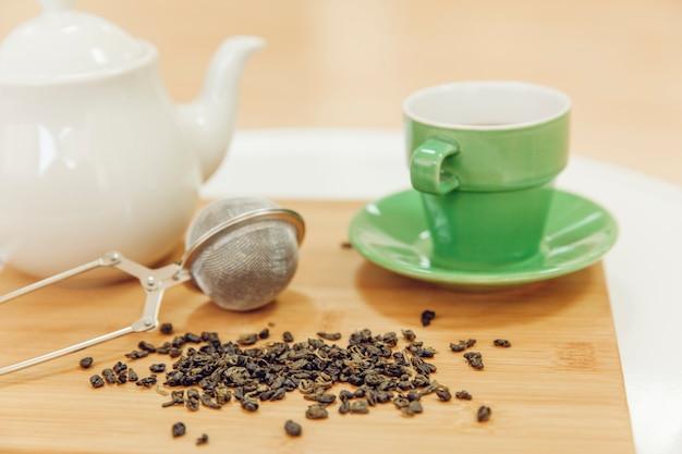 Kompozycja herbaty
