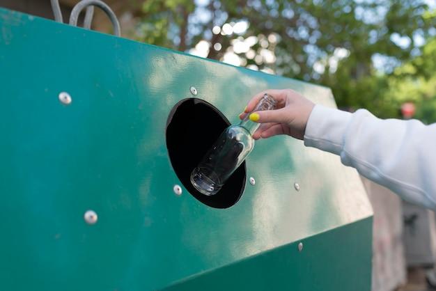 Kompozycja koncepcji zero waste
