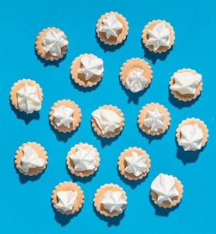 Kompozycja pysznych słodkich cukierków