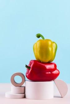 Kompozycja pysznych świeżych warzyw