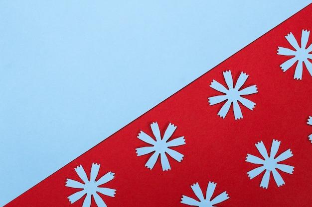 Kompozycja ramki z papierowymi kwiatami rzemieślniczymi