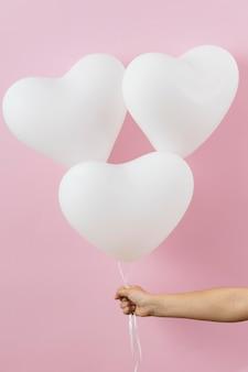 Kompozycja różnych balonów urodzinowych