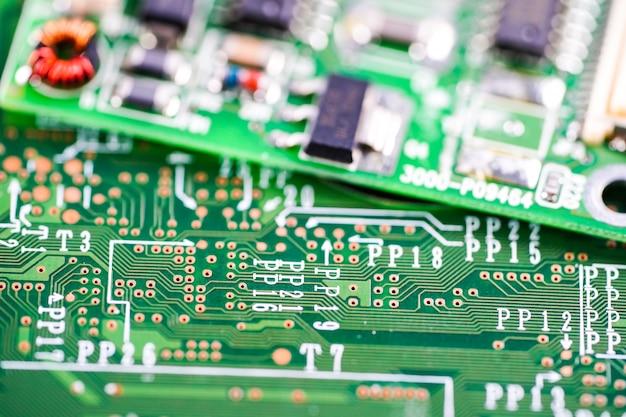 Komputer obwodu cpu urządzenia elektronicznego płyty głównej