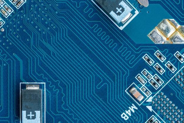 Komputer obwodu drukowanego, tekstura sprzętu elektronicznego